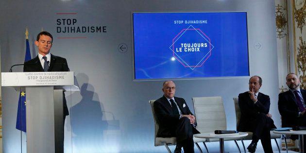 Manuel Valls à Matignon, en novembre