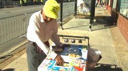 À 89 ans, Internet lui permet de prendre une retraite bien