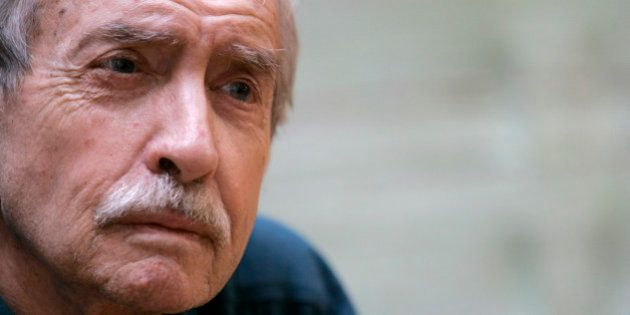Edward Albee poses for a portrait, Thursday, March 13, 2008, in New York. (AP Photo/Mary