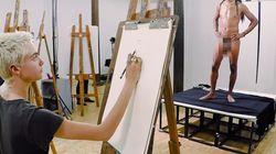 Cara Delevingne se met au dessin de nu, et c'est très drôle à