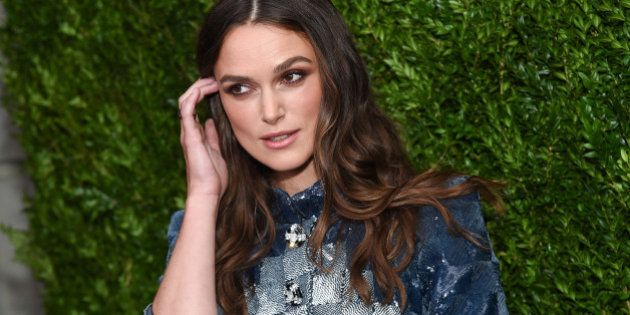 Actress Keira Knightley attends the CHANEL Fine Jewelry Dinner to celebrate the debut of The Jewel Box...