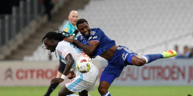 Football Soccer - Olympique Marseille v Olympique Lyon - French Ligue 1 - Velodrome stadium, 18/09/2016...