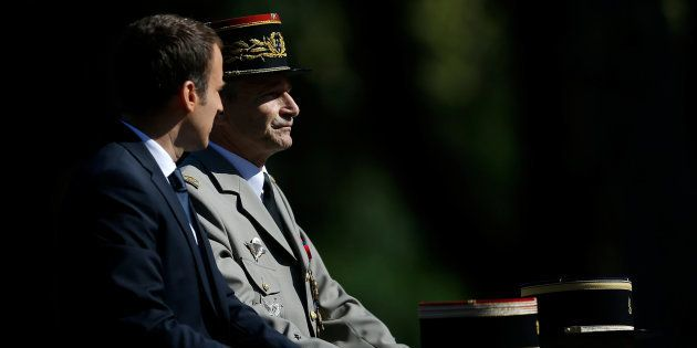 Après l'affrontement entre Macron et le général de Villiers, 15 haut gradés