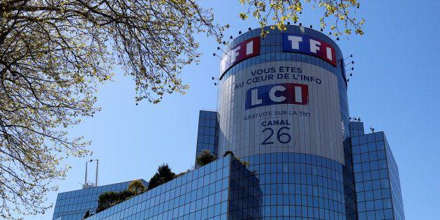 Le siège de TF1 à Boulogne-Billancourt, près de