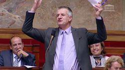 Pendant les débats sur la loi de moralisation, Jean Lassalle a fait du... Jean