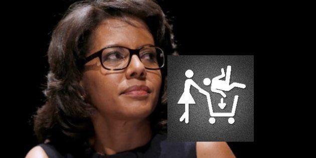 Audrey Pulvar dénonce le sexisme du logo d'