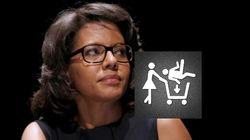 Audrey Pulvar dénonce le sexisme du logo