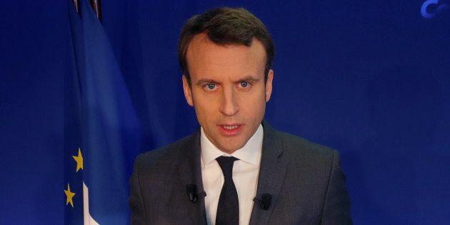 L'appel des Radicaux de gauche pour soutenir Emmanuel Macron. REUTERS/Philippe