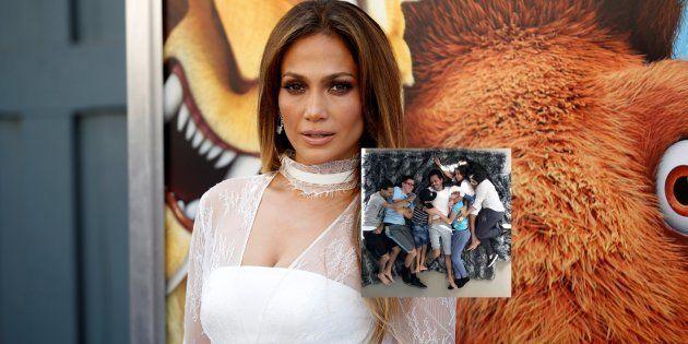 Jennifer Lopez partage une photo de son ex-mari Marc Anthony avec ses enfants pour le soutenir après...