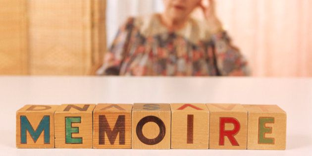Elderly patient suffering from memory loss,