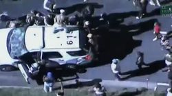 Les images des violentes émeutes après le meurtre d'un Noir par la police aux