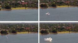 Le show aérien à Perth pour la fête nationale australienne a viré au