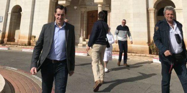 La visite de Nicolas Bay, secrétaire général du FN provoque l'embarras des dignitaires