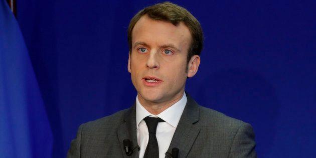 Pour jouer le match de la présidentielle, je choisis Emmanuel Macron. REUTERS/Philippe