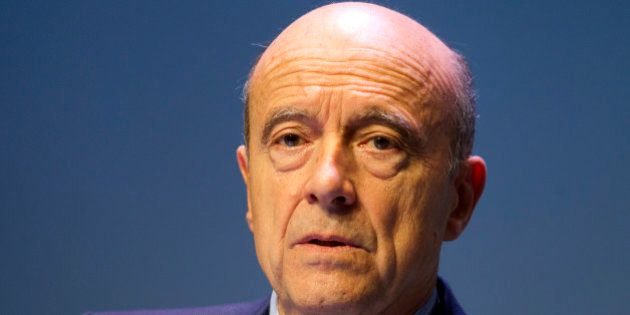 Former Primer Minister Alain Juppe attends the Chirac foundation prize giving ceremony Thursday, Nov....
