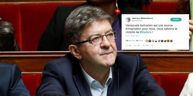 Jean-Luc Mélenchon à l'Assemblée nationale le 12