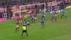 Triple crochet dans la surface et but, Ribéry est en grande
