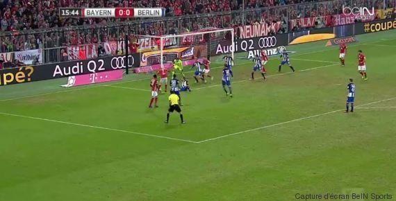 Triple crochet dans la surface, Franck Ribéry inscrit l'un des plus beaux buts de la