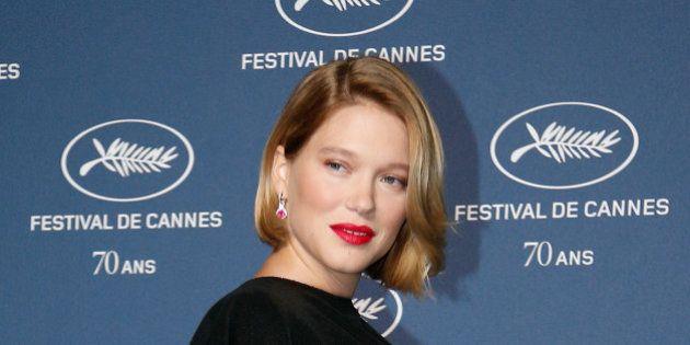 Léa Seydoux enceinte et fière de l'être au 70ème anniversaire du Festival de