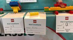 La construction de Lego de cet enfant de 12 ans relève du