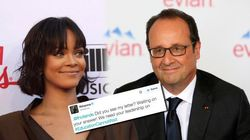 Rihanna a écrit à François Hollande et aimerait bien avoir une