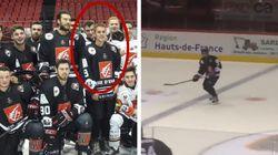 Justin Bieber joue tranquillement au hockey sur glace à