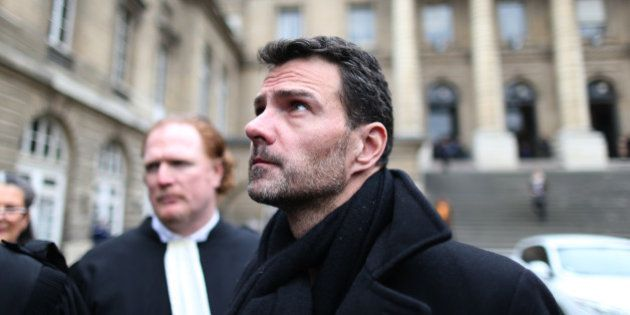Former trader Jerome Kerviel leaves the courthouse in Paris, France, March 21, 2016. Kerviel was convicted...