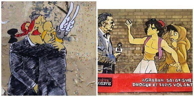 Emmanuel Macron, nouvelle muse du street artist
