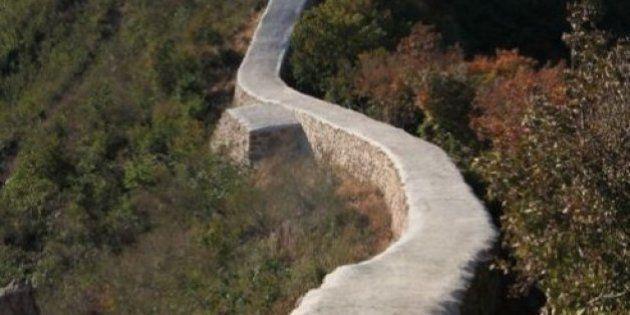 Ils ont recouvert une partie de la Grande muraille de Chine de ciment et c'est