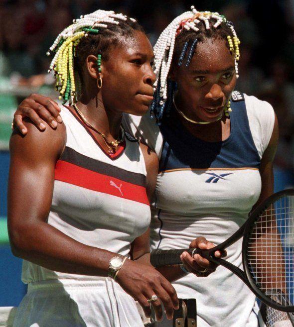 Serena et Venus Williams à Melbourne en