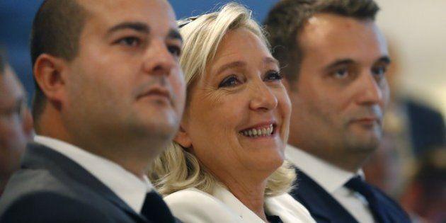 Traitée d'étron par Laurent Ruquier, Marine Le Pen obtient... un troisième