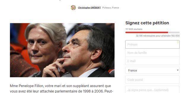160.000 signatures pour une pétition réclamant à Fillon le remboursement des 500.000