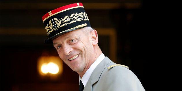 François Lecointre, nommé Chef d'état-major des armées après la démission fracassante du général de