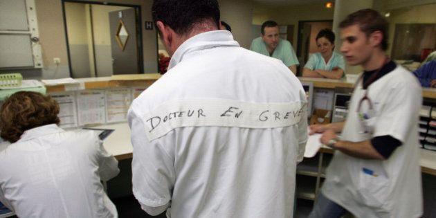 Grève des médecins hospitaliers: 30% des postes dans les hôpitaux publics sont à pourvoir, et c'est un...