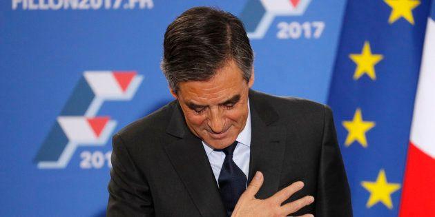 François Fillon pendant sa campagne victorieuse à la primaire de la
