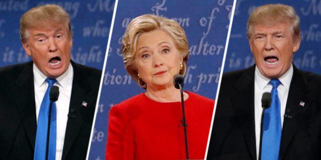 Donald Trump devait se contrôler face à Hillary Clinton pendant leur premier débat, c'est