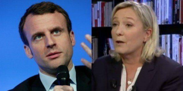 Marine Le Pen éreinte Emmanuel Macron (et elle a une sérieuse raison de s'en