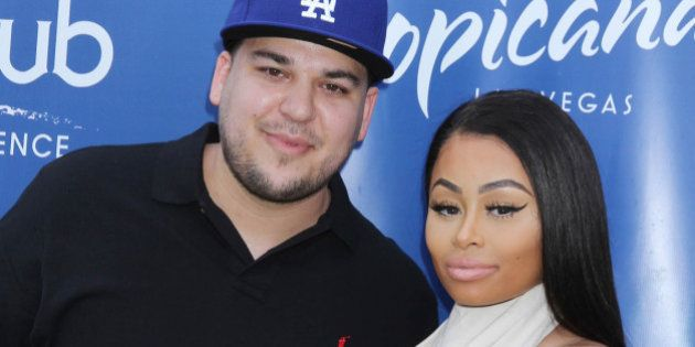 Photo by: Raoul Gatchalian/STAR MAX/IPx 5/28/16 Rob Kardashian and Blac Chyna at Sky Beach Club at The...