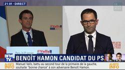 Couac ou impolitesse? Hamon a coupé Valls dans son discours de