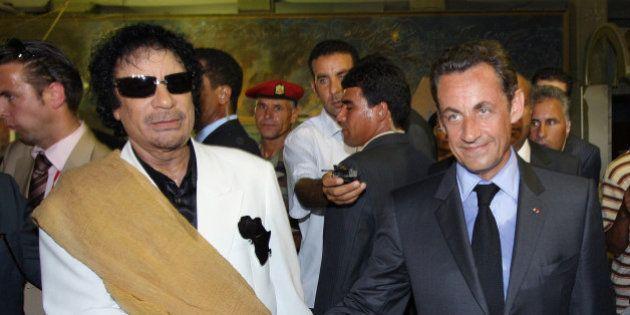 Libye: un carnet saisi par la justice évoque des sommes importantes versées à Sarkozy en