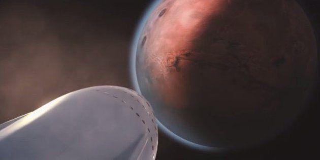 Le plan d'Elon Musk pour créer une colonie d'un million de personnes sur Mars d'ici 100