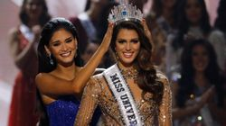 Iris Mittenaere, Miss France 2016, remporte la couronne de Miss