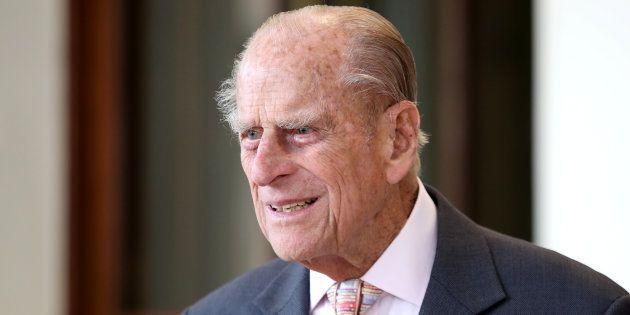 Le Prince Philip à Londres le 14