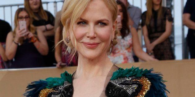 Nicole Kidman aux 23eme Screen Actors Guild Awards de Los Angeles, le 29 janvier