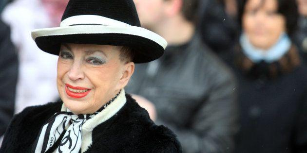 Genevieve de Fontenay en décembre 2009 à