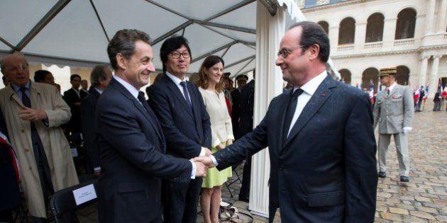 Pour les obsèques de Shimon Peres, François Hollande et Nicolas Sarkozy voyageront cette fois-ci dans...