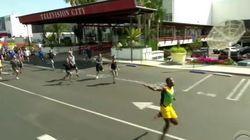 Si vous courriez à côté d'Usain Bolt, ça donnerait