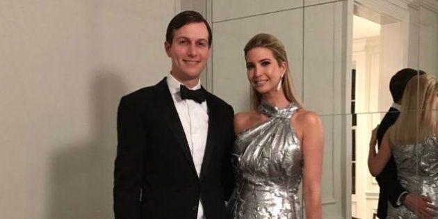 Ivanka Trump et son époux Jared Kushner dimanche 29