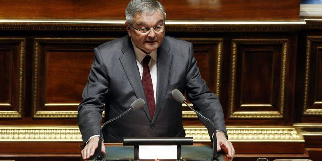 Michel Mercier au Sénat en mars
