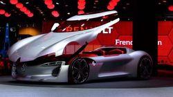 Renault dévoile Trezor, un concept-car électrique avec une seule